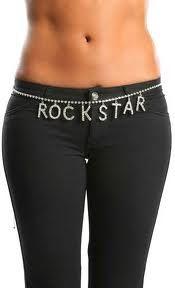 Rockstar Belly chain! Love <3