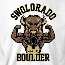 SWOLORADO Let Your Swolness Shine.  #KottonZoo #BroScience #BroScienceLife #Fitness #Humor #Swole #Gains #College #Workout #AllOne