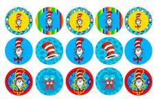 FREE BOTTLE CAP IMAGE - CAT IN THE HAT