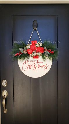 Christmas Door, Christmas Wreaths, Xmas, Christmas Ornaments, Cricut, Door Hangers, Door Wreaths, Dyi, Etsy Seller