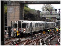 United States<br><b>City:</b> Jersey City, NJ<br><b>System:</b> PATH<br><b>Location:</b> Journal Square <br><b>Car:</b> PATH (St. Louis Car, 695 <br><b>Photo by:</b> Bob Wright<br><b>Date:</b> (this week/total):</b> 3 / 913 New York Subway, Nyc Subway, Newark New Jersey, Underground Tube, Moving To Miami, Metro Rail, Commuter Train, Rapid Transit, Jersey City