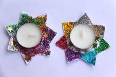 Image result for vánoční tvoření s dětmi Tea Lights, Advent, Candles, Christmas Ornaments, Holiday Decor, Tea Light Candles, Christmas Jewelry, Candy, Candle Sticks