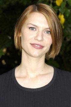 Peinados con el pelo corto - Claire Danes
