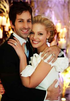Katherine Heigl and Josh Kelley. Celebrate your wedding with jewels from Renaissance Fine Jewelry in Vermont or www.vermontjewel.com