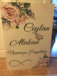Engagement Board, Promo Ceyda Organisation und Einladung Tel: 532 120 58 98 Was ist . Wedding Welcome Signs, Interior Design Living Room, Special Day, Decoration, Wedding Engagement, Dream Wedding, Place Card Holders, Concept, Invitations