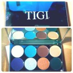 Love this TiGi pallet! You can also get the liquid enhancer and use colors wet or dry. Amazing!