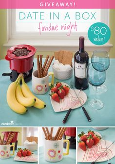 """Cardstore Blog is giving away a """"Date in a Box: Fondue Night"""" worth $80!"""