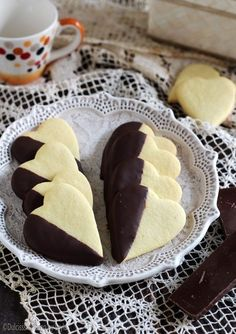 Food And Drink, Pudding, Sweets, Cookies, Desserts, Cookie Ideas, Gourmet Cookies, Shortbread Cookies, Hearts
