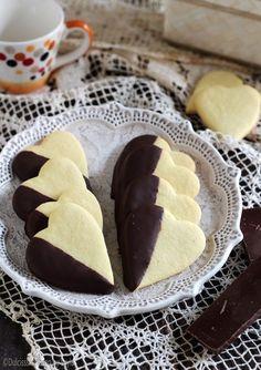 Cuoricini con il cioccolato Dulcisss in forno by Leyla