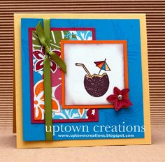 Uptown Creations- Stampin' Up! Independent Demonstrator: Girls Night Out May 2010