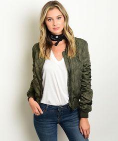 Jacket impermeable verde oliva #impermeable