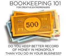 Book Keeping 101 for Creative Entrepreneurs by Go4ProPhotos