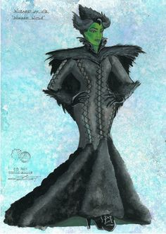 The Wizard of Oz (Wicked Witch). Colorado Springs Fine Arts Center. Costume design by Lex Liang.