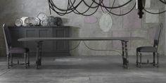 FA301, tavolo rettangolare in lenga sabbiato di Lando | lartdevivre - arredamento online