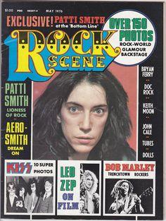Rock Scene, May 1976