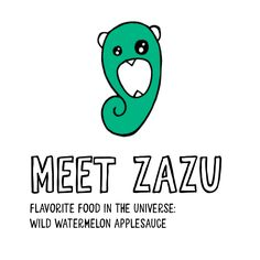 Zazu has got the Zee Zee Encyclozeedia memorized forward and backward and upside down. Now that she's on earth, she's excited to learn all about this planet, so she'd love to join you when you're doing your Earthly homework! Zazu's flavorite food in the universe: Wild Watermelon Applesauce Meet the Zee Zees at zeezees.com/pages/meet-us #MeetTheZeeZees