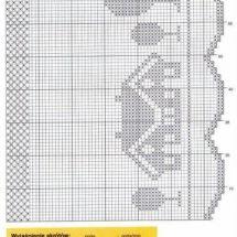 Crochet Curtain Patterns Part 11 - Beautiful Crochet Patterns and Knitting Patterns Crochet Curtain Pattern, Crochet Curtains, Curtain Patterns, Knitting Patterns, Crochet Patterns, Beautiful Crochet, Diys, Cute Crochet, Crochet Chart