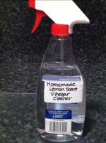 DIY Homemade Lemon Scent Cleaner