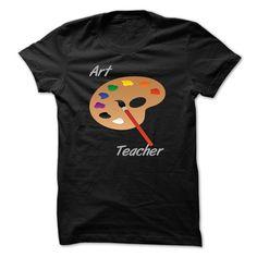 Art Teacher T-Shirts, Hoodies. SHOPPING NOW ==► https://www.sunfrog.com/LifeStyle/Art-Teacher-63579635-Guys.html?id=41382