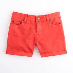 "Factory 4"" garment-dyed denim short"