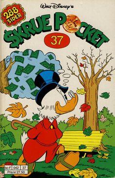 Cover for Skrue Pocket (1984 series) #37 [Reutsendelse]