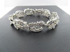 Ferro Jewelers - Estate Jewelry | Art Deco Diamond Bracelet
