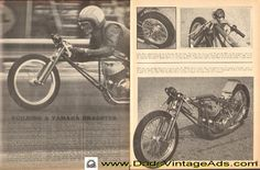 1968 Article: Building a Yamaha Dragster