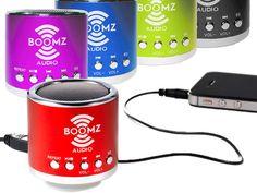 Mini Portable Speaker by Boomz Audio