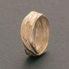 Silver Grass Ring from schmuckwerk-shop by DaWanda.com