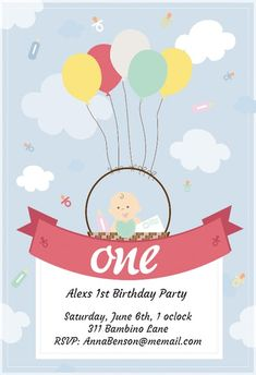 Online Birthday Invitations Templates Gorgeous 1St Birthday Confetti Invitation Party  Birthday Invitation .