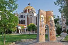 Cyrill and Methodius Column Thessaloniki, History, Historia