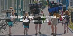 Planning a trip? Gear up for your vacation with these 7 must have useful travel gadgets. Essential tech accessories to make your travels even more enjoyable