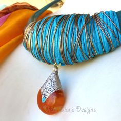 Amber Embrace by VickiDianeDesigns on Etsy, $48.00