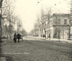 Çırağan Caddesi (1960'lar).