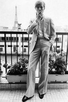 David Bowie in Paris, by Jean-Claude Deutsch, 1977 Angela Bowie, Bryan Cranston, Toni Braxton, Tilda Swinton, Sanaa Lathan, Gillian Anderson, Meek Mill, Dorian Gray, Ryan Gosling