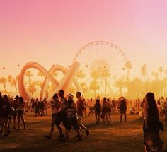The most gorge pic of Coachella I've ever seen.