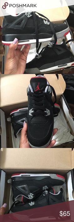 Jordan Retro 4's Size 4y Jordan Shoes Sneakers