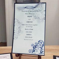 wedding invitation Simple but perfect