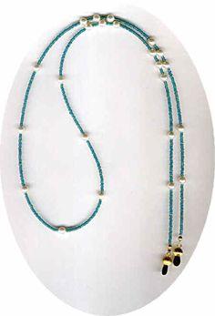 Beaded Jewelry by Bead Wizardry Designs: Beaded Eyeglass Chains Beaded ID Lanya Beaded Shoes, Beaded Jewelry, Jewelry Necklaces, Beaded Necklace, Beaded Bracelets, Anklet Bracelet, Anklets, Wedding Jewelry, Eyeglasses