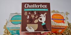 A retro inspired cereal box design from Tara Baker from Auburn University. Check it out