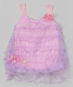 Love this Purple Tiny T Ruffle Bubble Bodysuit - Infant on #zulily! #zulilyfinds