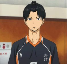 GIF: Kageyama - lol i cannot get over his hair
