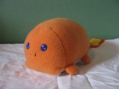 OOAK Pokemon Charmander Loaf Plushie by NovaDogCreations on Etsy