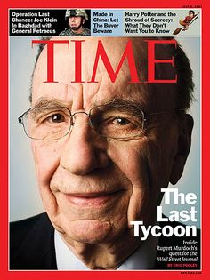 TIME Cover: Rupert Murdoch He's still around. Time isn't, at least not like this.