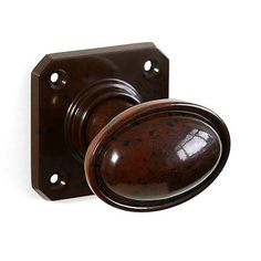 BROLITE 6813 Real Bakelite Door Knobs Walnut: A pair of vintage-style real Bakelite Door Knobs complete with square back-plates. Knobs And Handles, Door Handles, 1930s Doors, Art Deco Door, Inset Cabinets, Door Furniture, Back Plate, Wood Screws, Buttons