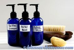 Home Made Coconut Milk Shampoo & Body Wash