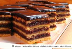 Mákos-meggyes zserbó | NOSALTY – receptek képekkel Hungarian Desserts, Hungarian Recipes, Smoothie Fruit, Cookie Recipes, Dessert Recipes, Torte Cake, Just Eat It, Sweet Cookies, Recipes From Heaven