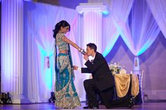 Sikh Wedding Reception 550x366 DC Wedding Reception: Veetu + Kreshan