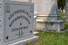 Grave of Elijah Jefferson Bond, first patent holder of the Ouija Board