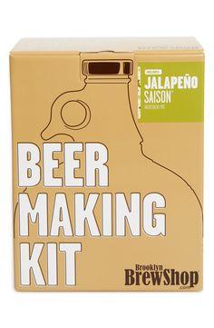 Brooklyn Brew Shop 'Jalapeño Saison' One-Gallon Beer Making Kit